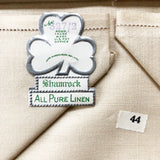 Pure Irish Linen Bridge Set (new in box)