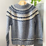 Grey Lopi Sweater