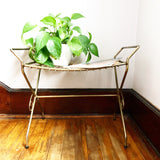 Heavy Brass Wire Bench