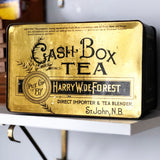 Cash Box Tea Tin