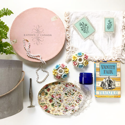 Vintage Beauty Box Time Capsule