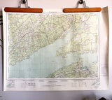 Vintage Amherst Nova Scotia Topographic Map