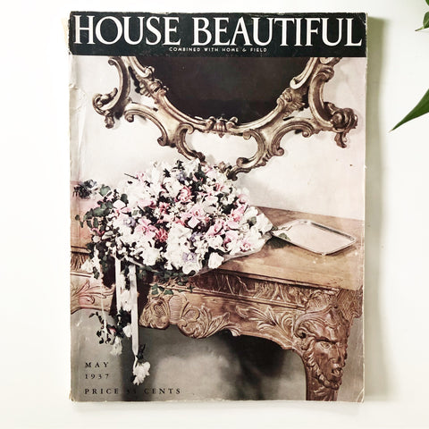 House Beautiful Magazine May 1937