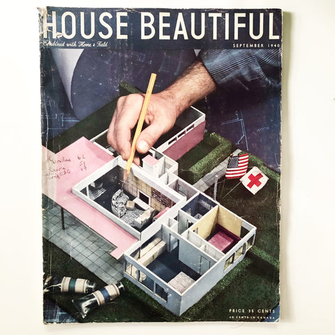House Beautiful Magazine September 1940