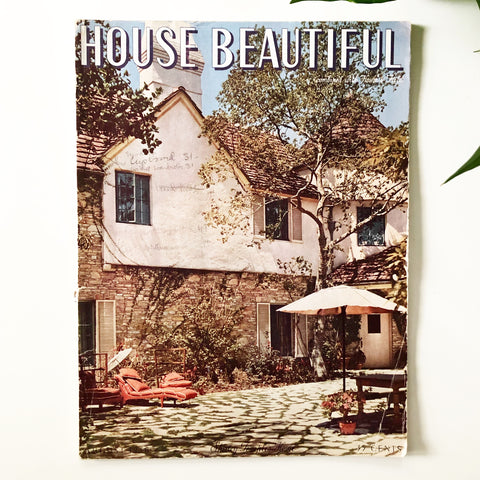 House Beautiful Magazine August 1938