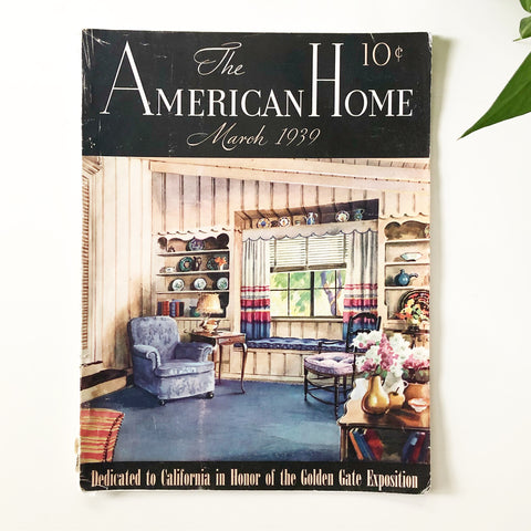 The American Home Magazine March 1939