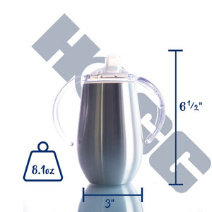 Design Your Own 14 oz Stainless Steel Sippy Cup