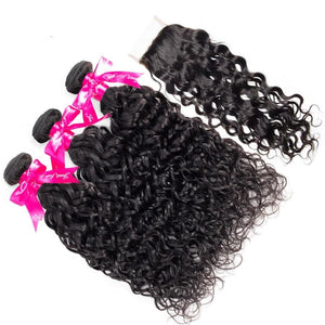 Brazilian Water Wave Bundles With Closure