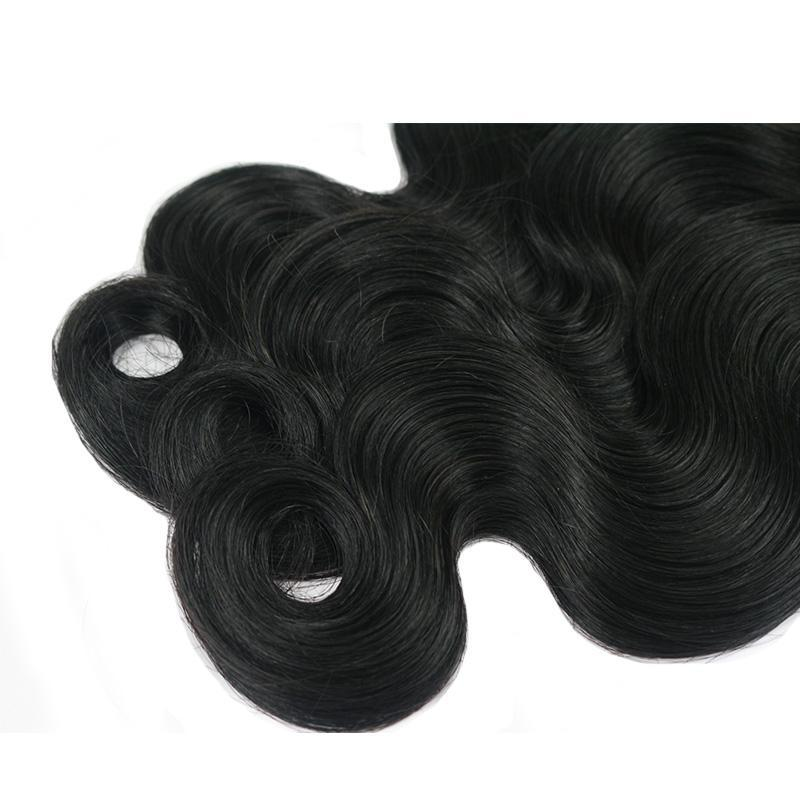 Peruvian Body Wave With Lace Closure 3 Bundles