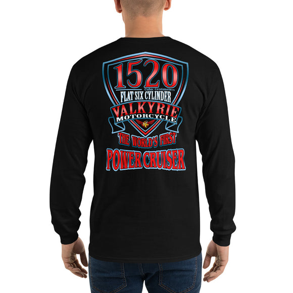 VALKYRIE MOTORCYCLE 1520 POWER CRUISER T-SHIRT Long Sleeve T-Shirt