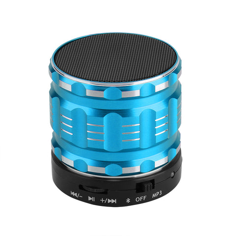 Bluetooth Speaker Portable Mini Wireless Stereo Bass Speaker Hands Free Loud Speaker With Mic Support FM Radio Turner/ TF/ USB - Kinggz