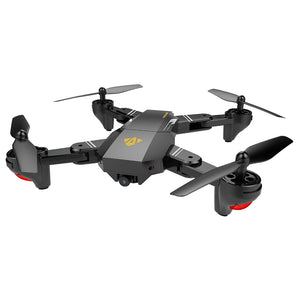 XS809 2.4GHz 4CH 6-axis Gyro Pocket Mini Selfie Foldable Drone RC Drone Quadcopter WiFi FPV 0.3 MP Camera Altitude Hold RTF - Kinggz