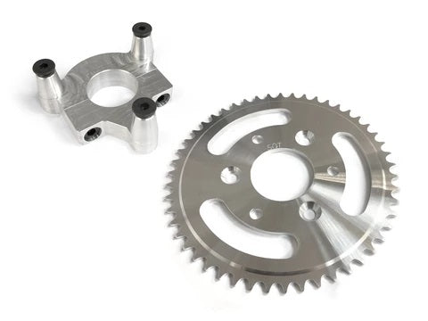 "motorized bike 44t sprocket and 1.5"" hub adapter"