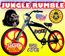 "JUNGLE RUMBLE TM 26"" GAS TANK FRAME BIKE FOR 48cc/66cc/80cc 2-STROKE 4-STROKE MOTORIZED BIKE KITS"