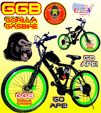 BABOON FRENZY TM COMPLETE DO-IT-YOURSELF 2-STROKE MOTORIZED MT. BIKE SYSTEM