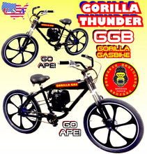 GORILLA THUNDER TM COMPLETE 4-STROKE FULLY MOTORIZED BIKE SYSTEM WITH GAS TANK FRAME BIKE 26""