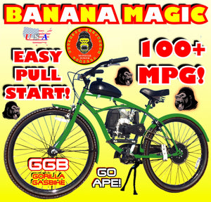 BANANA MAGIC TM COMPLETE 4-STROKE DO-IT-YOURSELF MOTORIZED BIKE SYSTEM