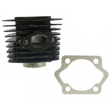 Motorized bike 2-stroke Black 66cc/80cc Cylinder Body and Base Gasket (with 32mm intake stud spacing)