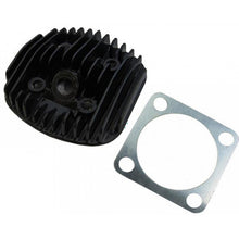 Motorized Bike 2-Stroke Black Cylinder Head 48cc and Gasket