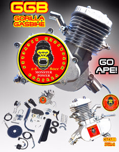 ROYAL APE TM COMPLETE DO-IT-YOURSELF 2-STROKE 66CC/80CC MOTORIZED GAS TANK FRAME CRUISER BIKE SYSTEM
