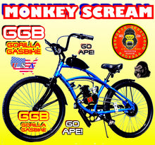 MONKEY SCREAM TM COMPLETE DO-IT-YOURSELF 2-STROKE 66CC/80CC MOTORIZED CRUISER BIKE SYSTEM