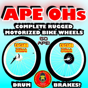 APE OHs TM HEAVY DUTY WHEELS FOR MOTORIZED BIKES