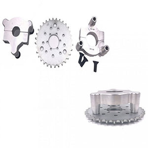 Multifunctional High Performance 36 Teeth Sprocket With 3+6+9 Holes 2-Stroke 4-Stroke 48cc 66cc 80cc