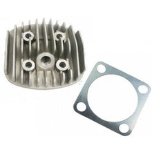 Motorized bike 2-stroke Silver Cylinder Head 80cc/66cc and Gasket
