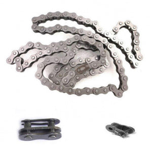 #415 Bike Chain (1pc), #415 Chain Link (Chain Locks) (1pc), Half Link (1pc) - 80CC Gas Motorized Bicycle