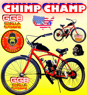 CHIMP CHAMP TM COMPLETE DO-IT-YOURSELF 2-STROKE MOTORIZED CRUISER BIKE SYSTEM