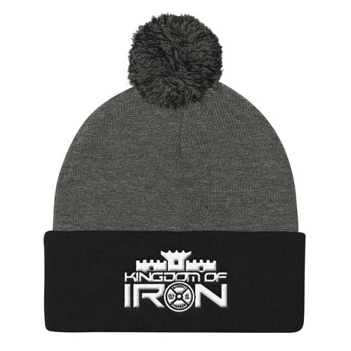 KINGDOM OF IRON POM POM CAP
