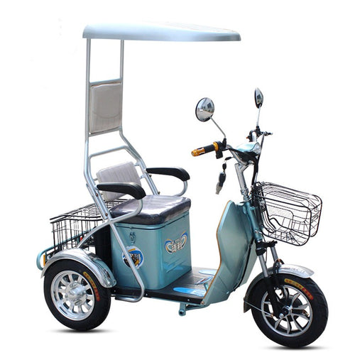 TJ-XZ-02-Unfoldable disabled and handicapeed used electric tricycle