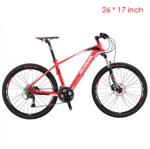 New brand Carbon fiber 27 speed 26 inch Shiman0 M370 Hydraulic disc brake mountain bike outdoor downhill bicycle MTB bicicletas