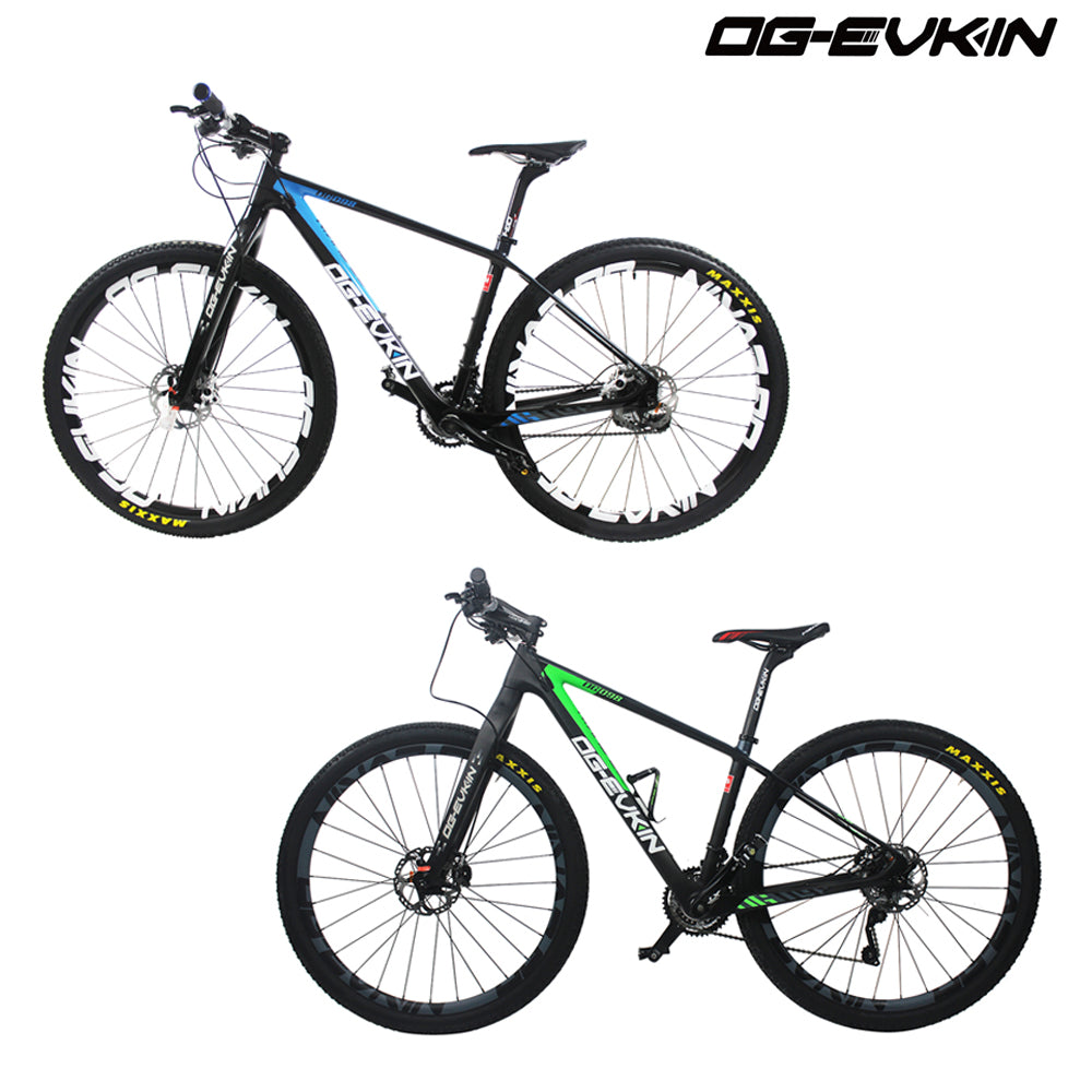 OG-EVKIN Super Light 30 Speed Carbon Mountain Bike Complete Bicycle 29 ER Bicicleta Cycling MTB Ciclismo Size 16