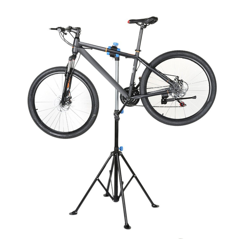 Heavy Duty Aluminium Alloy Bicycle Stand MTB Bike Home Storage Repair Stand Cycling Rack Holder Maintenance Tool 107*17*17cm