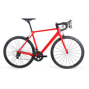 Costelo Ultimate SLX Carbon road bicycle H11 handlebar complete bike 38mm carbon clincher bob color 3k wheels saddle tires