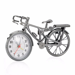 1Pc ABS Retro Bicycle Alarm Clock Cool Style Clock Fashion Personality Needle Clock NZ-035 Popular Drop Shipping 22*6*13cm