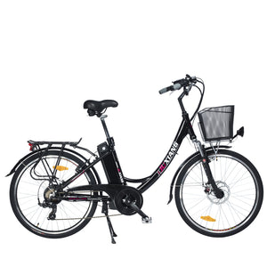 26inch electric bicycle City electric assisted bicycle 36Vli-ion battery 250w high speed motor pas range 55-90km Family cycling