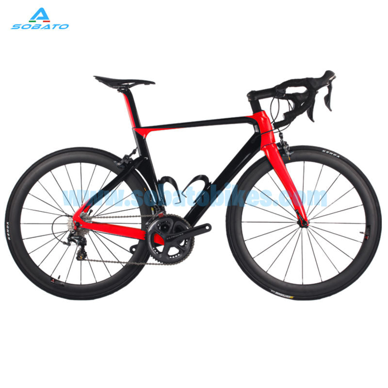2016 Newest 4 colors SOABTO 700C Road bicycle full carbon fibre bike frame with carbon fork seatpost seat clamp headsets