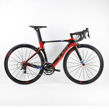 NEW HOT 22 speed 700C Carbon complete road bike 3k carbon groupset wheels bicicleta colorful Full Bicycle road bike T10