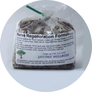Nerve Re-generation Formula - Dry [4.5 oz.]