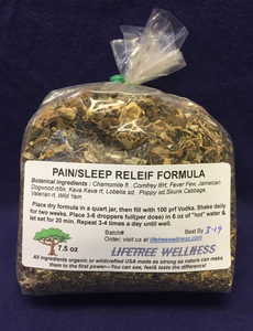 Pain/Sleep Relief Formula - Dry [7.5 oz.]