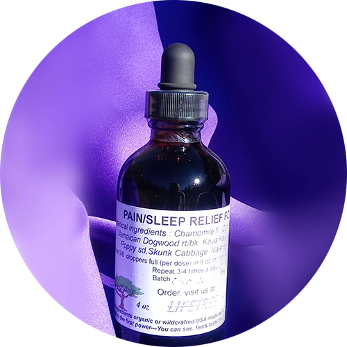 Pain/Sleep Relief Formula Tincture