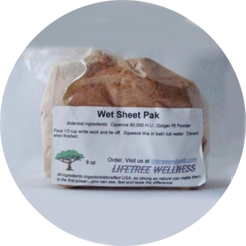 Wet Sheet Pak Herbs - Dry [8 oz.]