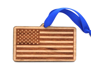 United States (USA) Flag Ornament