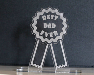 Best Dad Ever Plaque