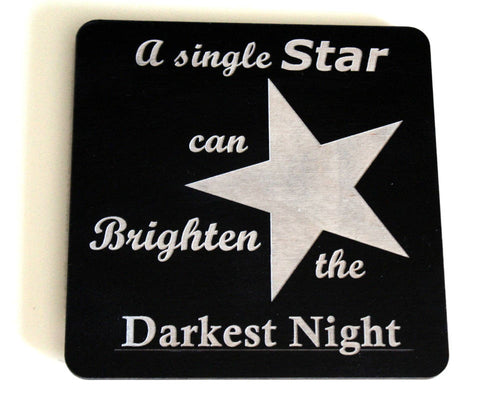 Brightest Star Wall Plaque
