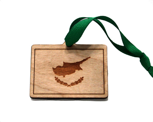 Cyprus Flag Ornament