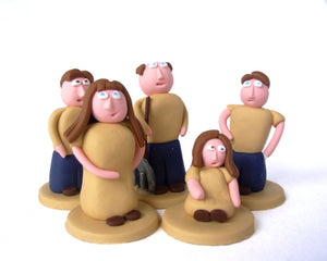 Agricola Farmer Family Set