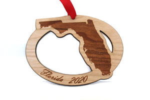 Florida Map Ornament